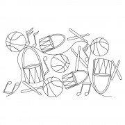 Basketball Drum Pano Pattern